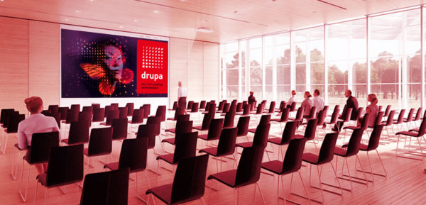 Foto: drupa preview - conference area